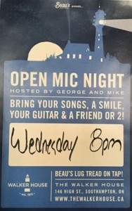 Wednesday Open Mic Nights!