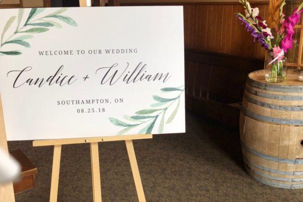 Walker House weddings
