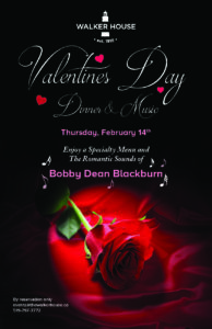 Valentines Day Dinner & Music