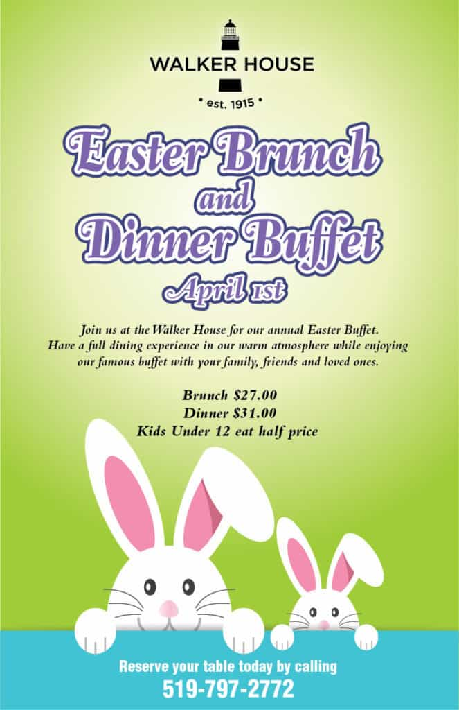 Easter Buffets @ Walker House
